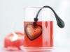 Kalp Şeklinde Bardak Çay Demliği