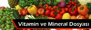 Besinlerin vitamin ve minarel değerleri. Hangi vitamin neye yarar?