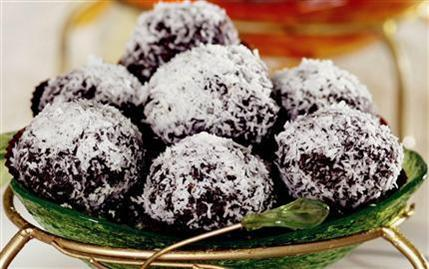 Pratik İkramlıklar-Kakaolu Toplar
