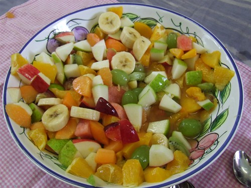 Pratik İkramlıklar-Meyve Salatası