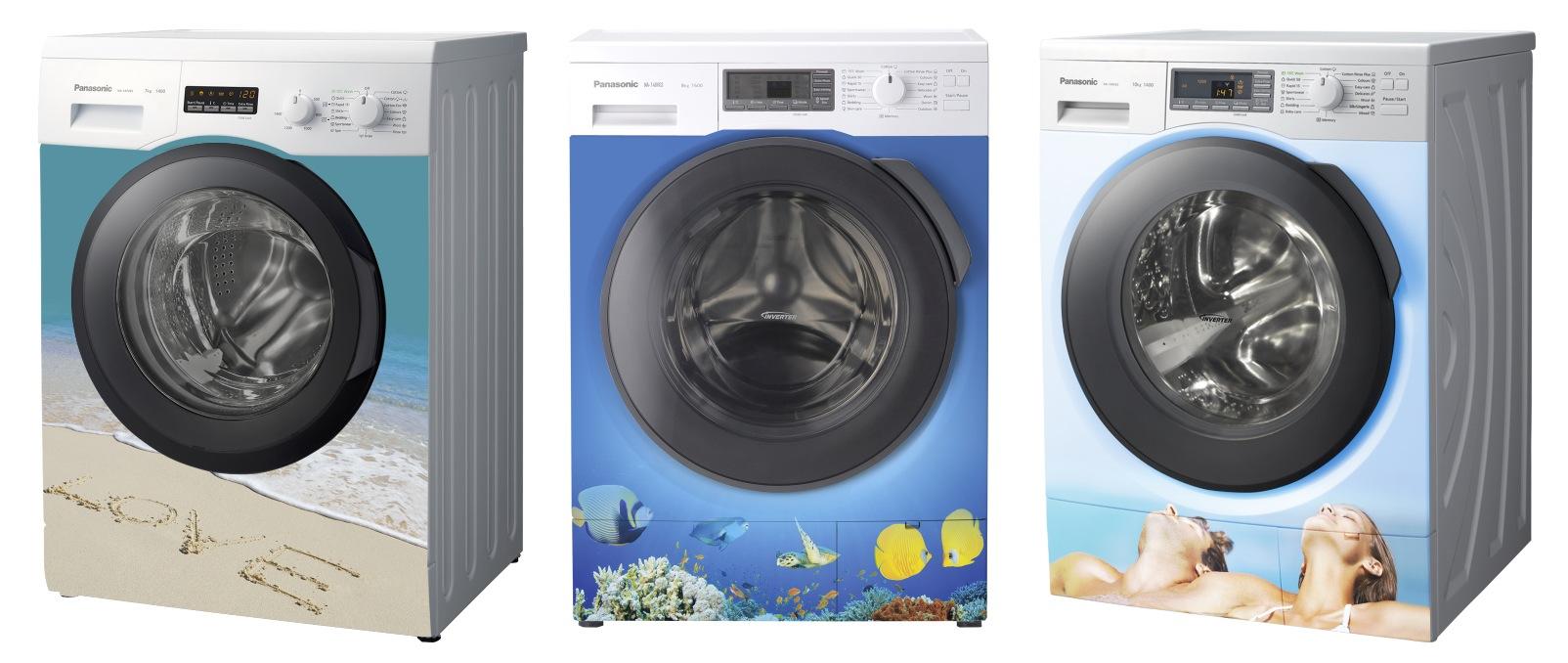 Panasonic Çamaşır Makineleri Banyoları Renklendirecek
