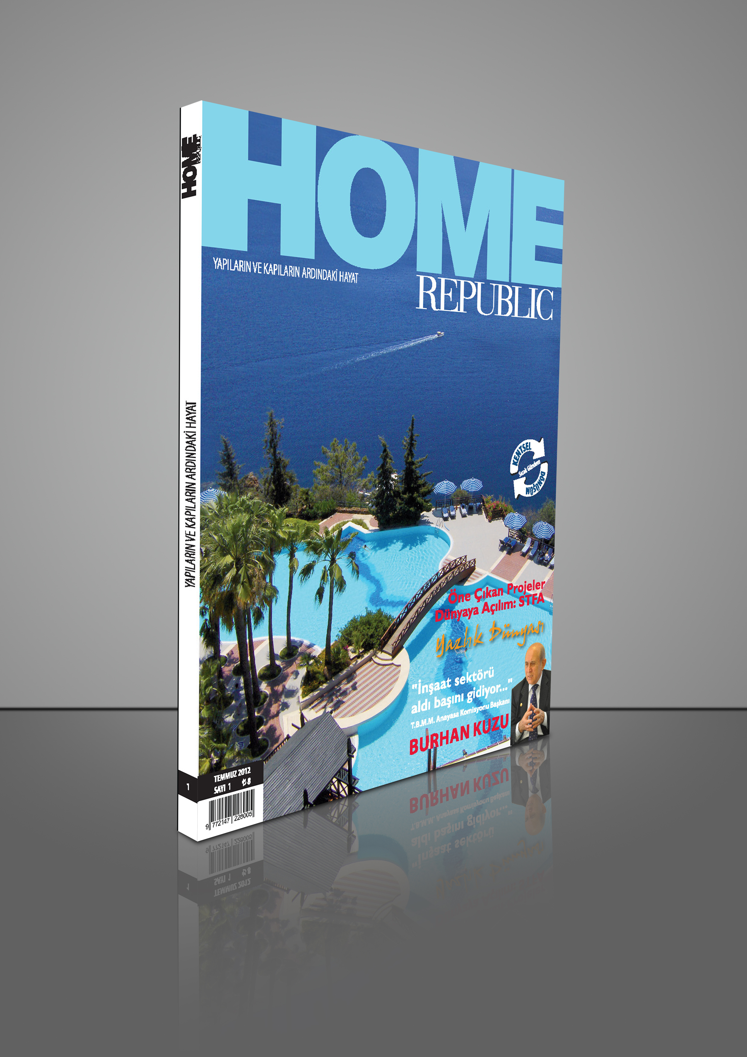 Yapı Dünyasının Farklı Dergisi Home Republic