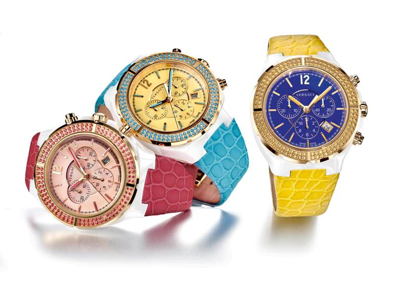 Versace'den Limitli Saat Koleksiyonu